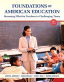 Foundations of American Education PDF