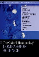 The Oxford Handbook of Compassion Science PDF