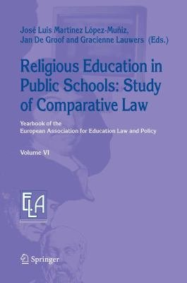Religious Education in Public Schools  Study of Comparative Law PDF