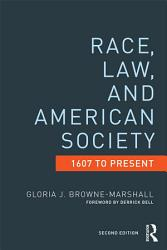 Race Law And American Society Book PDF