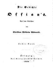 Die Gedichte Ossian's: Band 1