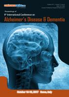 Proceedings of 9th International Conference on Alzheimer   s Disease   Dementia 2017 PDF