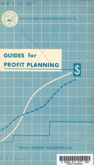Guides for Profit Planning