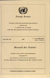 Treaty Series 2326 I / Recueil Des Traites 2326 I: 41688-41690 - Annex a
