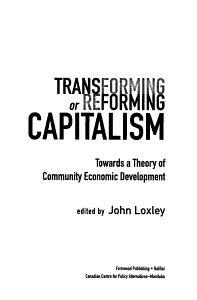 Transforming Or Reforming Capitalism PDF