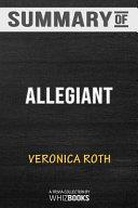 Summary of Allegiant  Divergent Series  PDF