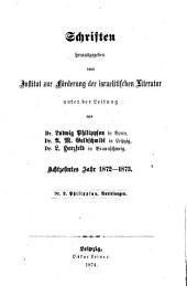 Die Entwickelung der religiösen Idee im Judenthume, Christenthume und Islam und die Religion der Gesellschaft