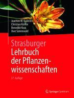 Strasburger     Lehrbuch der Pflanzenwissenschaften PDF