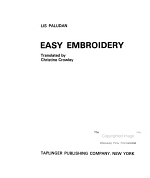Easy Embroidery PDF