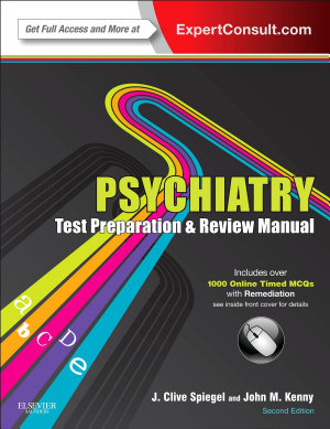 Psychiatry Test Preparation and Review Manual E Book PDF