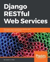 Django RESTful Web Services PDF