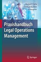 Praxishandbuch Legal Operations Management PDF