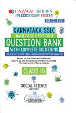 Oswaal Karnataka SSLC Question Bank Class 10 Social Science Book Chapterwise & Topicwise (For 2021 Exam)