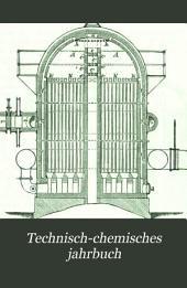 Technisch-chemisches jahrbuch: Band 10