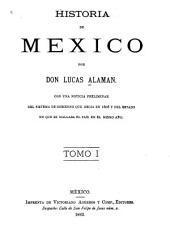 Historia de Mexico: Volumen 1