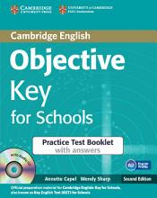 Objective Key for Schools Practice Test Booklet with Answers with Audio CD PDF