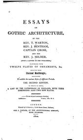 Essays on Gothic Architecture