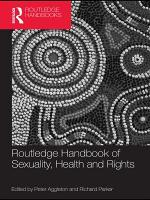 Routledge Handbook of Sexuality  Health and Rights PDF