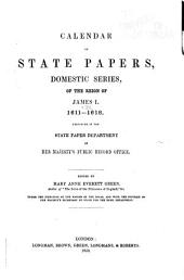Calendar of State Papers, Domestic Series ...
