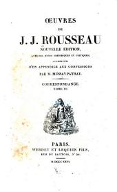 Oeuvres de J.J. Rousseau: Volume19
