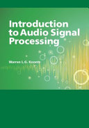 Introduction to Audio Signal Processing