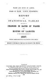 Wages and Hours of Labour ...: Report on Changes in Rates of Wages and Hours of Labour in the United Kingdom ...