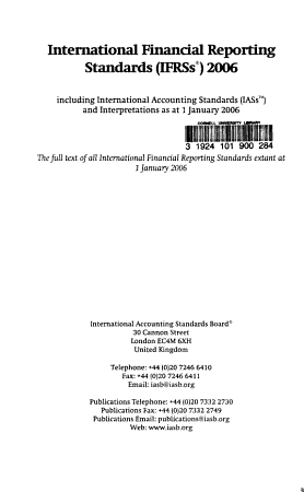 International Financial Reporting Standards  IFRS s  PDF
