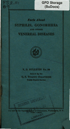 Facts About Syphilis  Gonorrhea and Other Venereal Diseases PDF