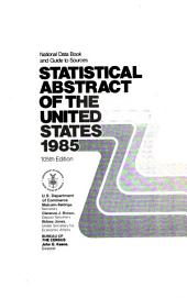 Statistical Abstract of the United States: Volume 105