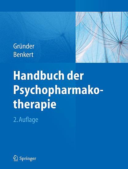 Handbuch der Psychopharmakotherapie PDF