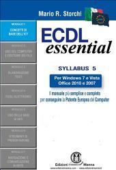 ECDL Essential – Modulo 1 – Concetti di base dell'ICT