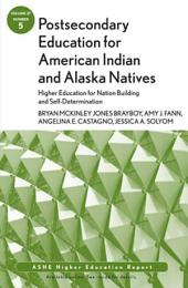 Postsecondary Education for American Indian and Alaska Natives: Higher Education for Nation Building and Self-Determination: ASHE Higher Education Report 37:5