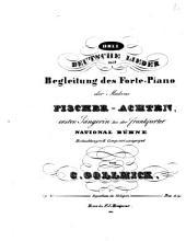 Drei deutsche Lieder mit Begleitung des Forte-Piano: op. 49
