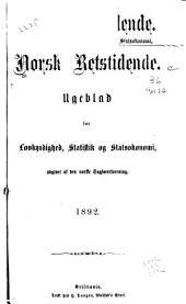 Norsk retstidende: Volum 57