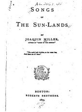 Songs of the Sun-lands