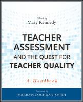 Teacher Assessment and the Quest for Teacher Quality PDF