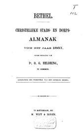 Bethel: christelijke stads- en dorpsalmanak voor ...., Volume 1