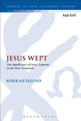 Jesus Wept  The Significance of Jesus    Laments in the New Testament