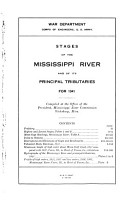 Stages of the Mississippi River and of Its Principal Tributaries  for     PDF
