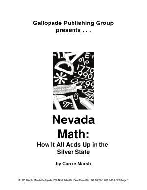 Nevada Math