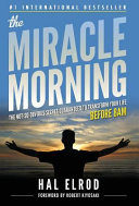 The Miracle Morning Book