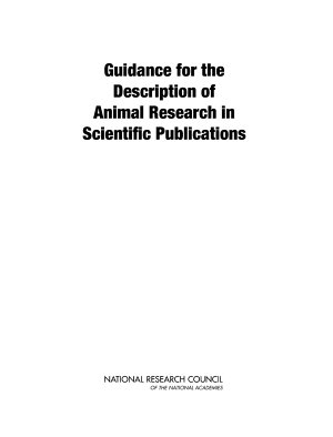 Guidance for the Description of Animal Research in Scientific Publications