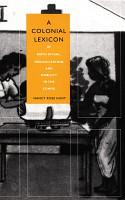 A Colonial Lexicon PDF