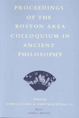 Proceedings of the Boston Area Colloquium in Ancient Philosophy PDF