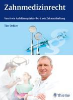 Zahnmedizinrecht PDF