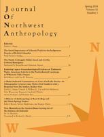Journal of Northwest Anthropology PDF