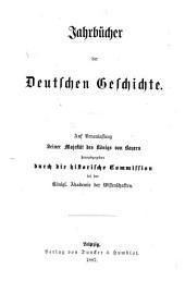 Geschichte des Ostfränkischen Reichs: bd. Ludwig der Deutsche vom Koblenzer frieden bis zu seinem tode (860-876)