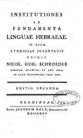 Institutiones ad fundamenta linguae Hebraeae
