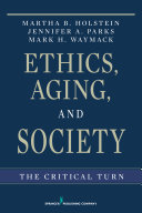 Ethics  Aging  and Society