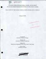 Program Completion, Behavioral Change, and Re-arrest for the Batterer Intervention System of Cook County, Illinois